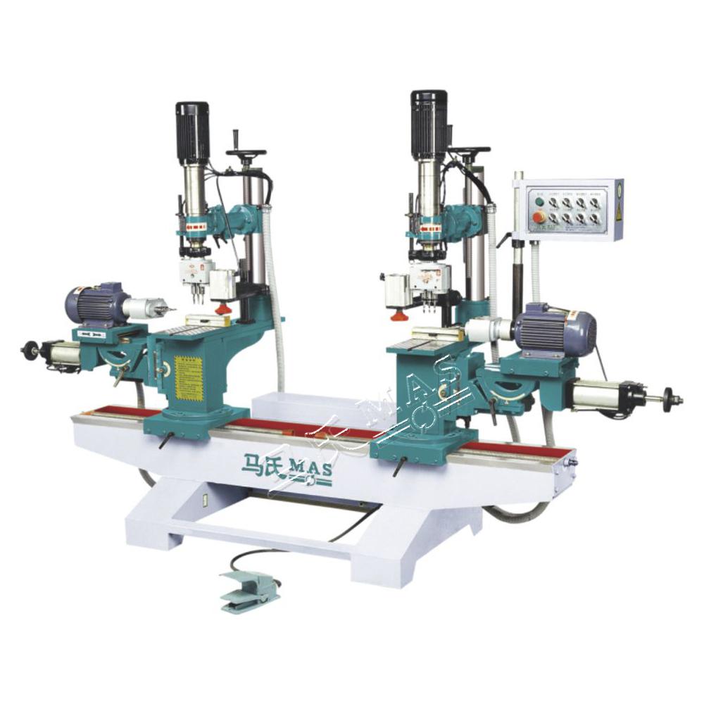 东马氏木工机械_MZ9312双端立卧式可调木工钻床-马氏木工机械